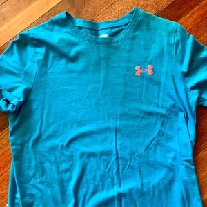 TWO youth xl Under Armour T-shirt's